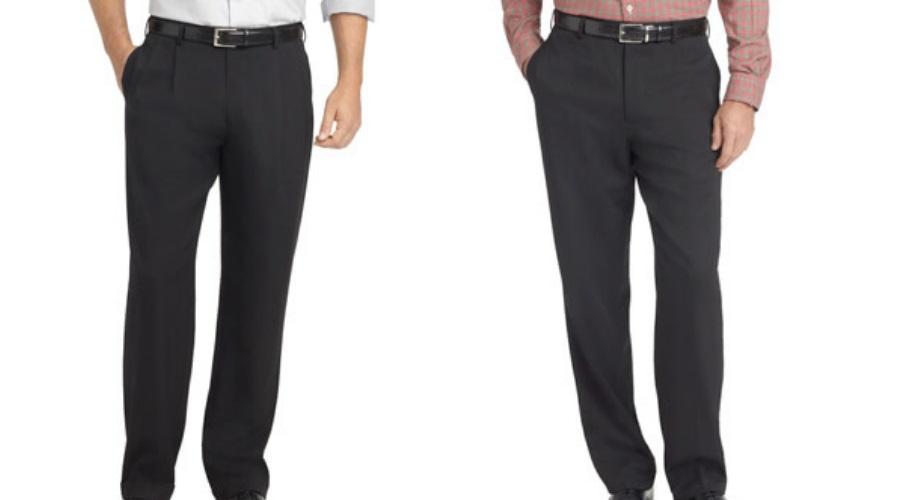Plain Front pants
