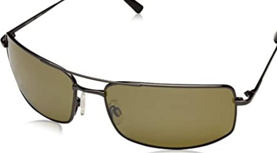 Sorrento In Shiny Gunmetal Frames With 555NM Lenses