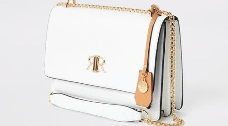 White Satchel Bag