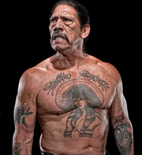 Danny Trejo Debbie Tattoos