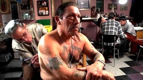 Danny Trejo Rose Tattoo