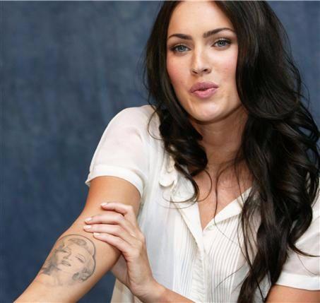 Megan Fox's Removed Marilyn Monroe Tattoo
