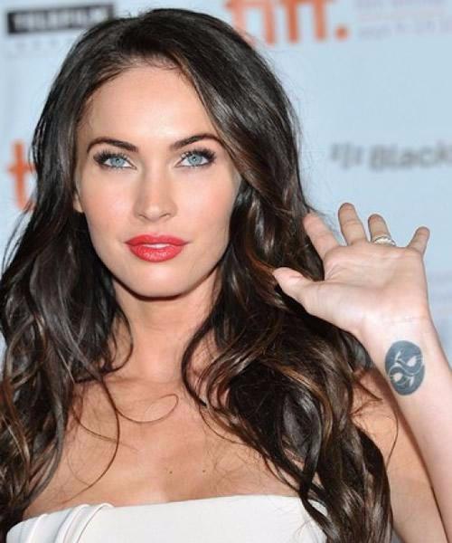 Megan Fox's Yin-Yang Wrist Tattoo